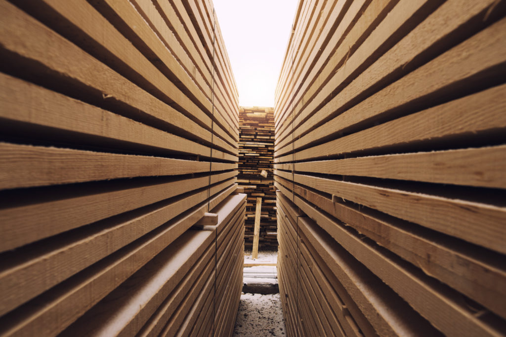 stack wooden planks sawmill lumber yard 1024x683